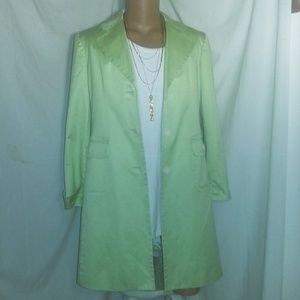 Trench Casual Corner Mint Lime Coat L